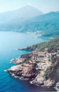 Mount Athos Monastry Slope Stability - Greece
