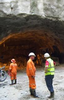 Large Span Cavern - Gautrain, South Africa